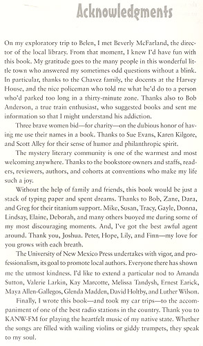 acknowledgments - image links back to belen's main page